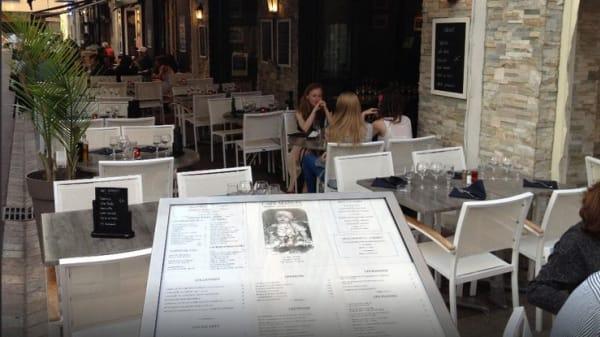 Terrasse - Café Manuel, Cannes