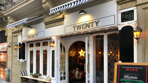 Entrada - Twenty, Barcelona