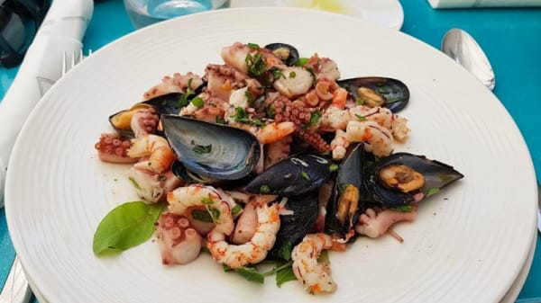 Secondo di pesce - Osteria Villa Zuccaro, Taormina
