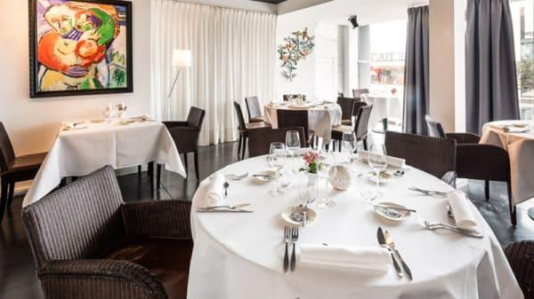 Vue de la salle - Mange Tout, Ostende