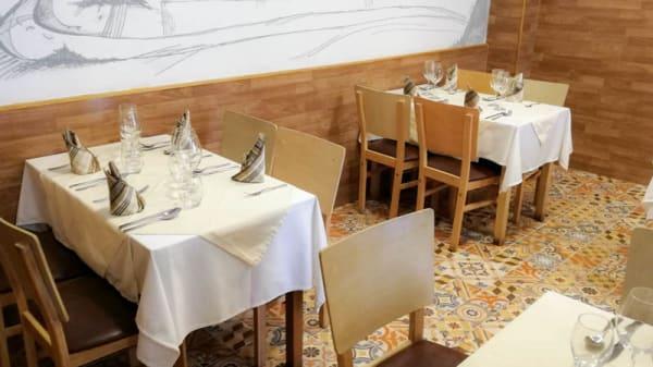 Vista do interior - La Cantina Italiana, Lisboa