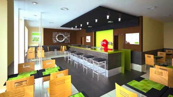 Vista sala - Trebedes Café, Toledo