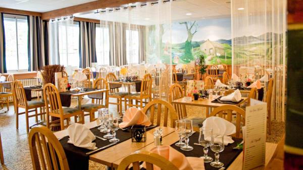 Vue salle - Hôtel Restaurant Les Messageries, Murat