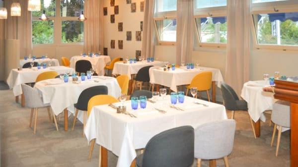 intérieur - Le Rapido - côté restaurant, Sotteville-lès-Rouen