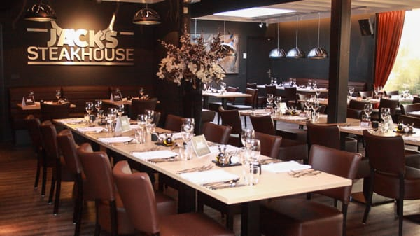 Restaurantzaal - Jacks Steakhouse, Dordrecht