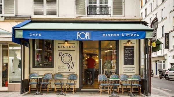 12 rue du Champ de Mars - Popu Bistro à Pizza, Paris