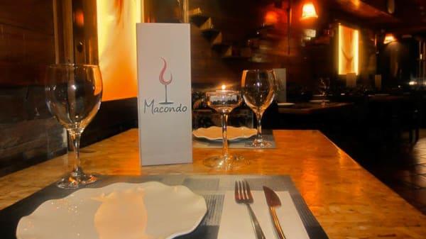 detalle mesa - Macondo, Murcia
