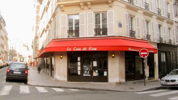 Vue façade - Le Coin de Rues, Paris