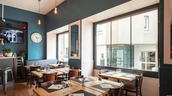 Salle du restaurant - Da Luca Pizzeria, Nantes