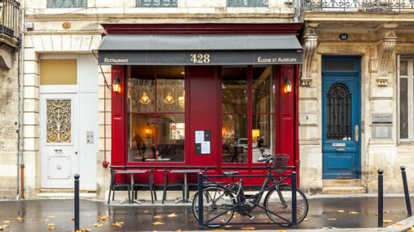 Entrée - Le 428, Bordeaux