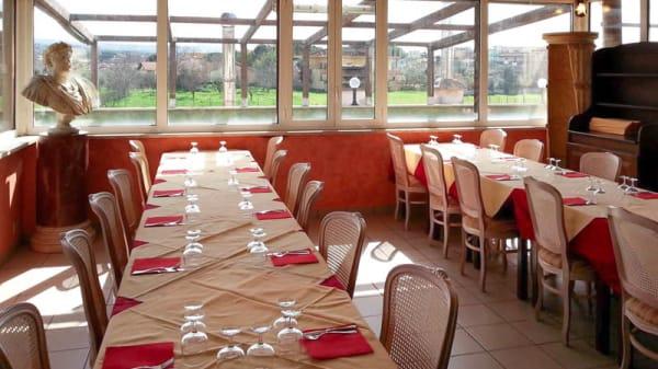 Vista sala - Ristorante Okura Sushi Wok Buffet, Roma