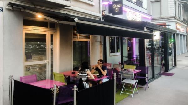 Terrasse - Le Quai 31, Lyon