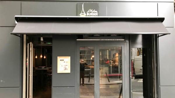 Vue exterieur - L'Artisan du burger -Poissonnière, Paris