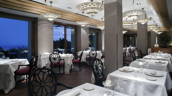 Vista sala - L'Orangerie - Hotel La Florida, Barcelona