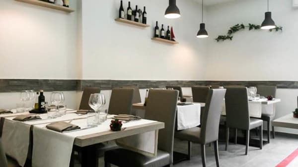 La sala - Officina Culinaria, Ostia