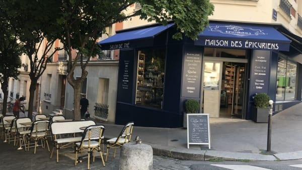 Entrée - Maison des Epicuriens, Paris