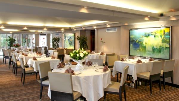 Salle du restaurant - Le Carré - Amirauté Hôtel, Touques
