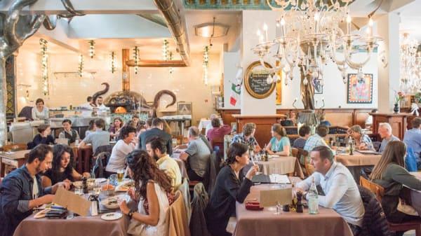 O'Pazzo Restaurant in Rotterdam, Markthal, Oude haven - Menu,  openingstijden, prijzen, adres van restaurant - TheFork (voorheen IENS)
