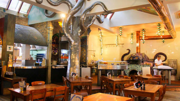 Het restaurant - O'Pazzo Restaurant, Rotterdam