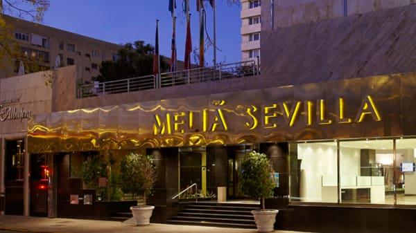 Fachada - La Albufera - Hotel Meliá Sevilla, Sevilla