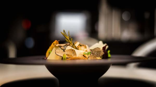 salade de noix de st Jacques au truffes et parmesan - Le Boudoir, Nice