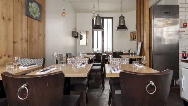 Vue de la salle - Saisons Cuisine du Marche, Asnières-sur-Seine