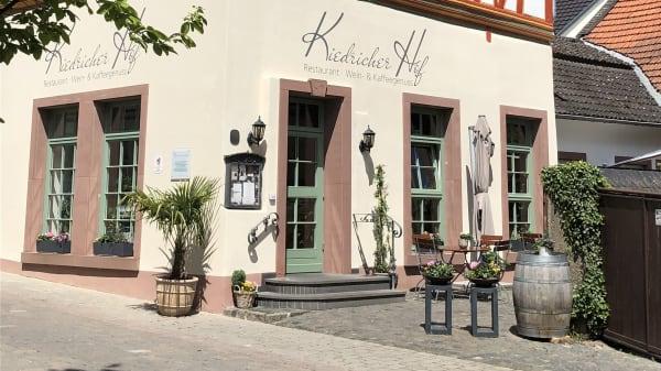 Eingang - Kiedricher Hof, Kiedrich