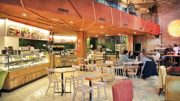 vista interior - Organic's, Barcelona
