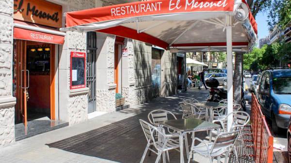 Terraza - El Mesonet, Barcelona