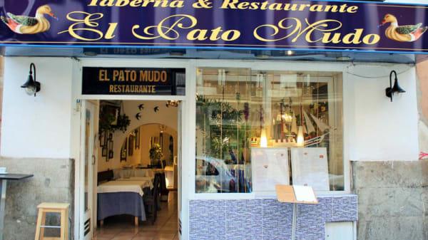 Entrada - El Pato Mudo, Madrid
