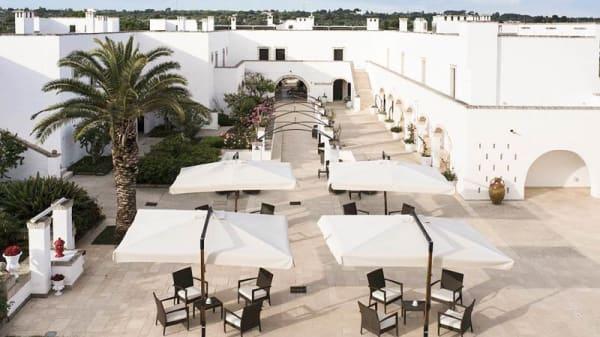 Terrazza - Borgobianco White Restaurant, Polignano A Mare