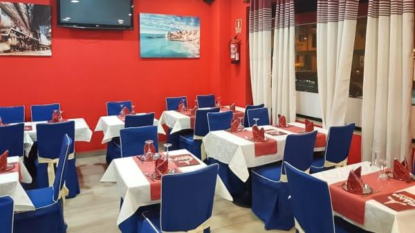Sala del restaurante - Shiva Restaurant & Bar, Alcalá de Henares