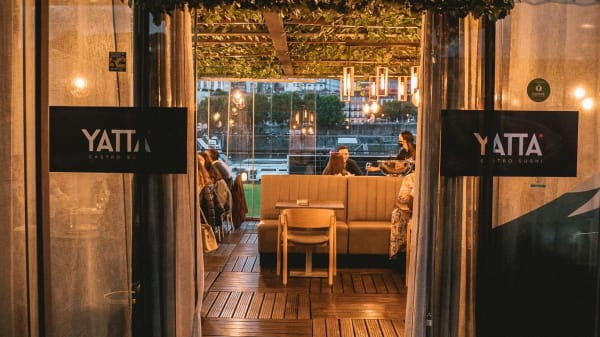 Entrada sala panorâmica - Yatta Gastro Sushi, Vila Nova de Gaia