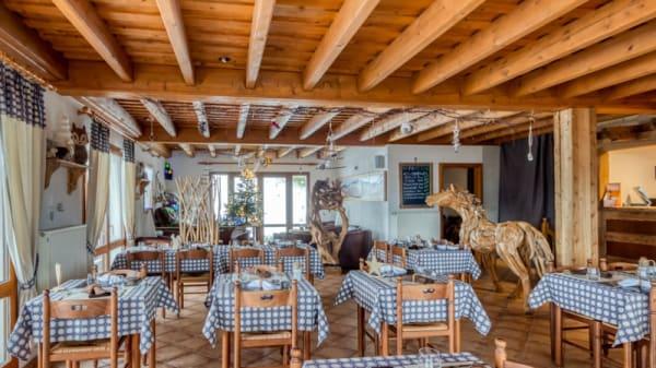 Salle du restaurant - La Bouloie - Hôtel Restaurant, Bussang