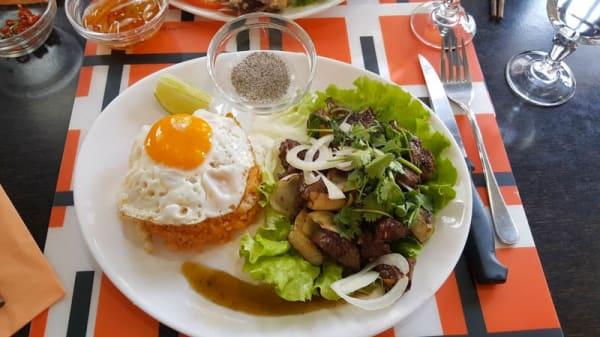 Suggestion du chef - Dnj Café, Paris