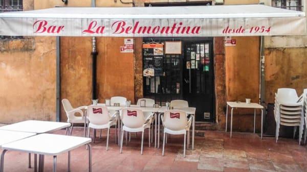 Fachada - La Belmontina, Oviedo
