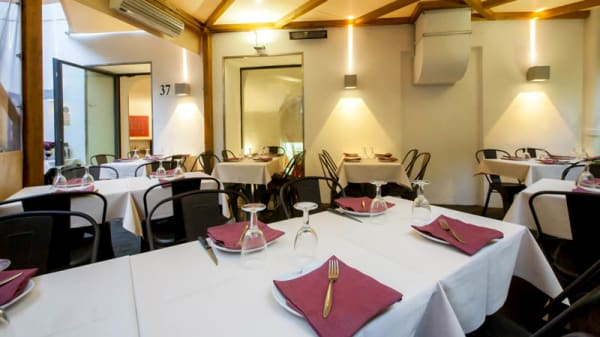 Vista sala - Mangiafuoco Pizza & Grill, Roma