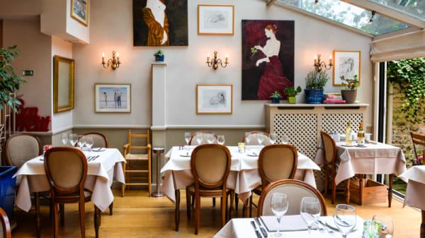 Salle du restaurant - Aux Beaumes de Venise, Ixelles