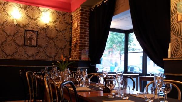 Tables dressées - Bistrot Mademoiselle, Vincennes