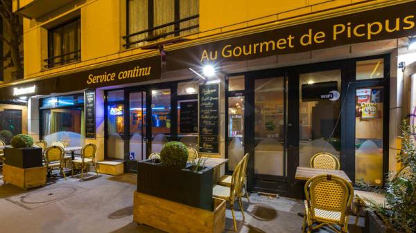 Devanture - Au Gourmet de Picpus, Paris