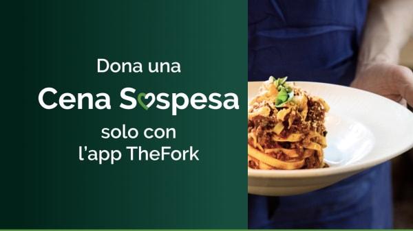 Dona una cena sospesa - Cena Sospesa, Milano
