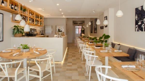Vista de sala - Pinzell restaurante, Ciutadella de Menorca