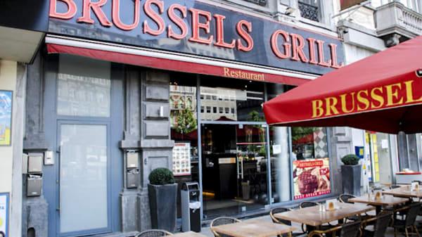 Vue entrée - Brussels Grill Place Debrouckere, Brussels