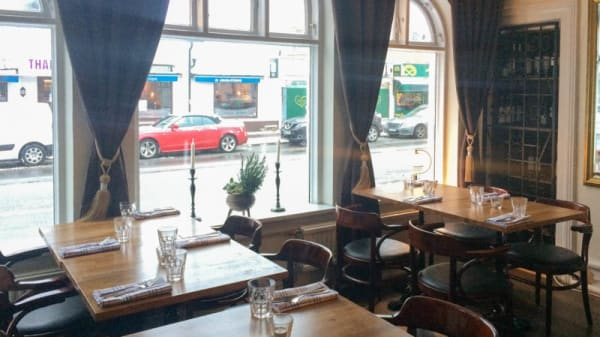 The restaurant - Bistro Stella, Limhamn