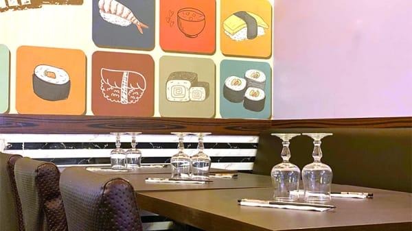 Vue de la salle - Sushi Bar, Paris