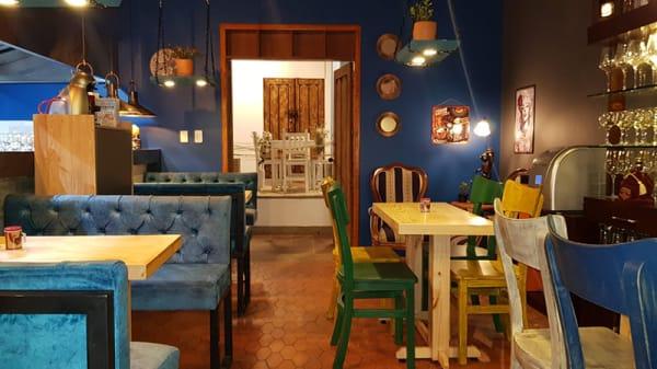 Vista sala - Restaurante La Pampeana, La Calera