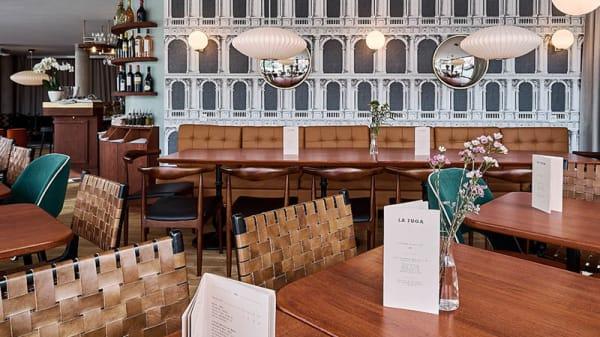 La Fuga Restaurant - Vue salle - La Fuga, Truchtersheim