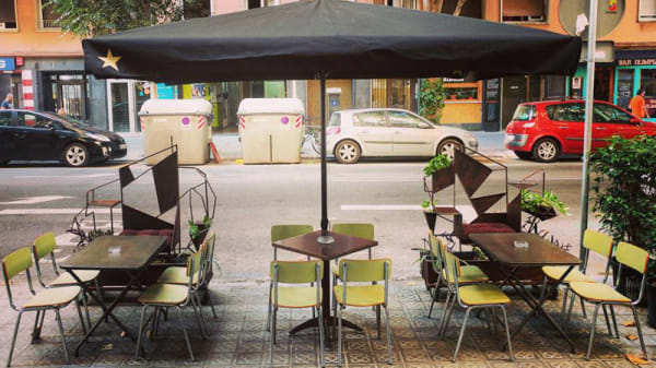Vista sala - Filomena Gastrobar, Barcelona