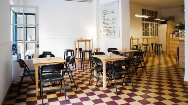 Vista sala - No Kitchen, Sevilla