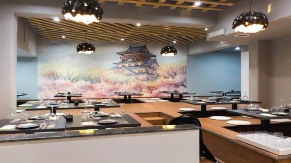 Vista sala - EMY Sushi Asian Restaurant, Marino